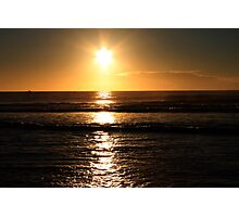 Golden Morning Photographic Print