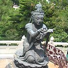 Buddha at Lantau Island by Camelot