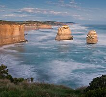 The Two Apostles,Great Ocean Road,Australia. by Darryl Fowler