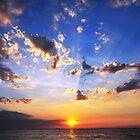 Sunset at Jomtien Beach, Thailand by jomtien