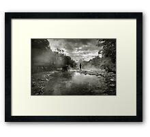 Hotsprings Framed Print