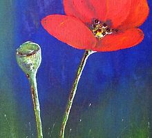 Red Tulip by Elizabeth Kendall