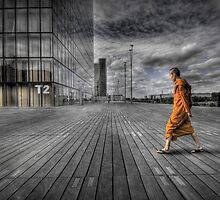 Monk in Paris by Laurent Hunziker