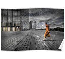 Monk in Paris Poster