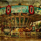 The Old Animal Carousel by  Kira Bodensted