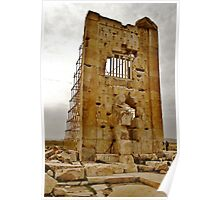 Treasure House - Pasargadae - IRAN Poster