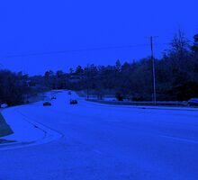The highway has the blues by Rachel Williams