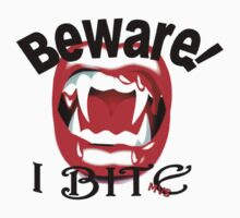 Beware I Bite by Michelle Scott