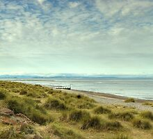 Findhorn Beach by Jamie  Green