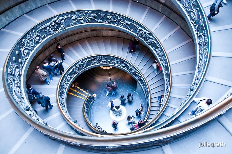 Vatican Staircase by juliegrath