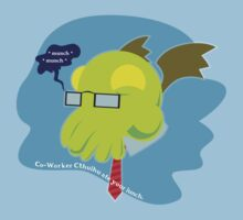 Co-Worker Cthuhu by monkeyminion