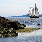 Sailing Ship Navy Channel  by TerrillWelch