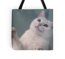 Talk to the Paw!!  Tote Bag