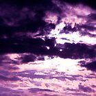 Purple clouds by KeeleyKennahan