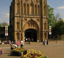 The Abbey Gate, Bury St Edmunds, Suffolk by wiggyofipswich
