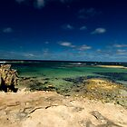 Port MacDonnell Low Tide by LinleyandCharles Photography