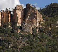 Eroded sandstone ~ Salvatore Rosa by Richard  Stanley