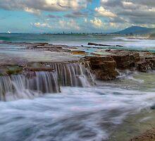Ocean Falls - Austinmer Australia by TMphotography