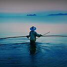 Thai Fisherman by Angie Muccillo