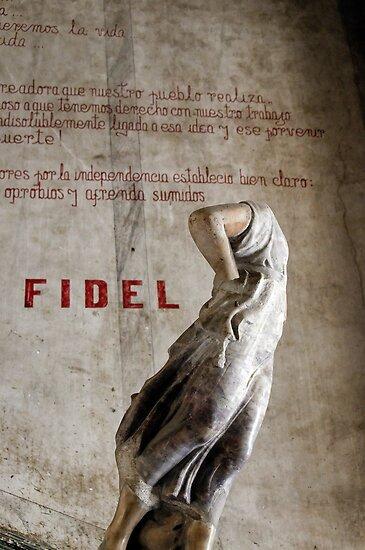 Headless statue at La Guarida, Havana by buttonpresser