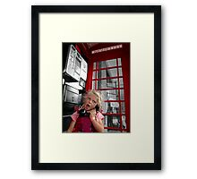 Chatterbox Framed Print