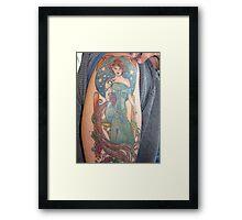 Mucha Tattoo:  Anna McClain artist Framed Print