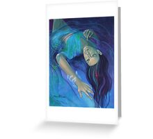 """Touching the ephemeral"" - from ""Whispers"" series Greeting Card"