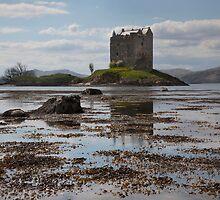Castle Stalker - Loch Laich by SteveMG