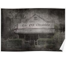 The Old Chronicle Poster