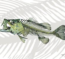 Largemouth Bass by helterskeletons