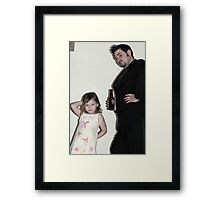 Jr Supermodels Framed Print