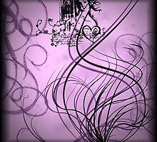 Pink Swirls by rhianana