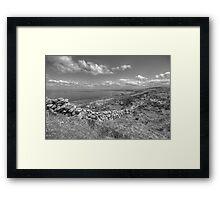 Black Head scenic view Framed Print