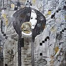 Inspired by Klimt by  Pauline Wherrell