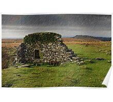 Dartmoor Cathedral in the Rain Poster