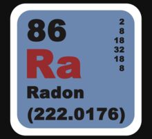 Periodic Table of Elements: No. 86 Radon by walterericsy