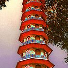 The Pagoda at Kew gardens by jomtien