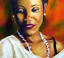 Shantelle,  the painting by Antionette