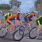 The Peloton by Karen Ilari