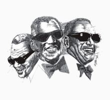 Ray Charles by Keith Henry Brown