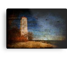 Presqu'ile Lighthouse Metal Print