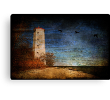 Presqu'ile Lighthouse Canvas Print