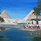 Giza Morning by Victoria Mistretta