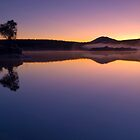 Lake Otamangakau Sunrise by Paul Mercer