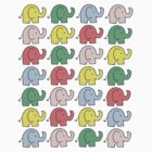 The elephant parade by lollipopsunday