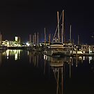 Marina at 11pm by Brett Keith