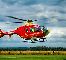 East Staffordshire Air Ambulance by Jonathan Fletcher