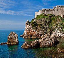 Dubrovnik Castle by vadim19