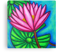 Pink Gem 1 Canvas Print