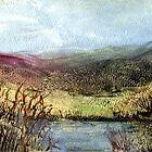 Moorland View 2 by Carol Rowland